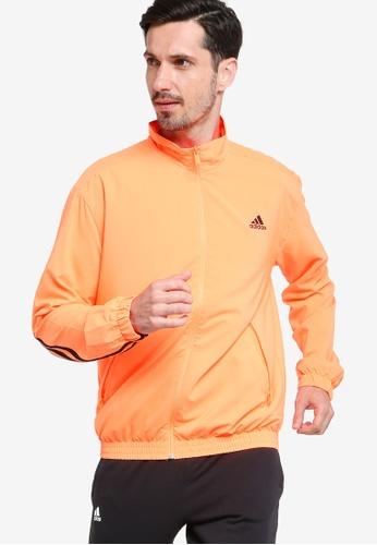 ADIDAS 橘色 sportswear woven 3-stripes track jacket F28C1AACCC5DDEGS_1