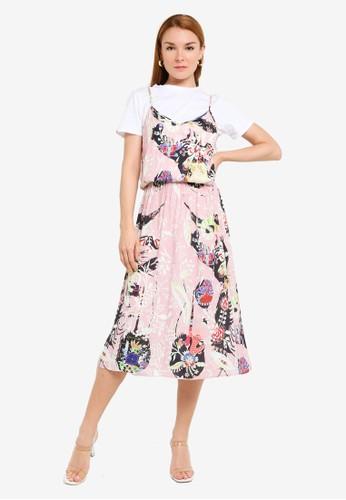 Desigual pink Emmeline Vest Dress BCA4EAA07CBE26GS_1