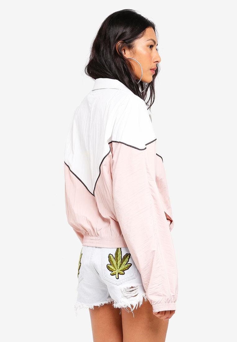 MISSGUIDED Block Colour Jacket Suit Shell Nude p7fUZpn