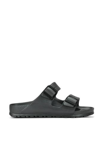 Birkenstock grey Arizona EVA Sandals E508CSH26FBAF6GS_1
