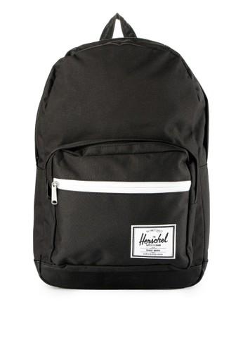 Herschel black Pop Quiz Backpack 2F894AC319FE88GS_1