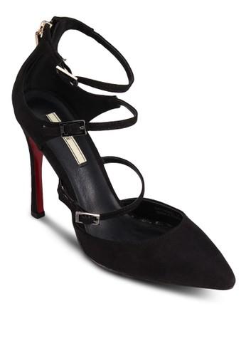 尖頭多帶esprit暢貨中心高跟鞋, 女鞋, 厚底高跟鞋