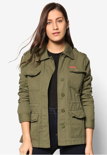 Rookie esprit outlet 香港軍事風外套, 服飾, 服飾