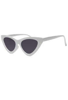 d0434e1c170 Kallisto black and white Denise Cateye Sunglasses 86876GLA06FCBAGS 1