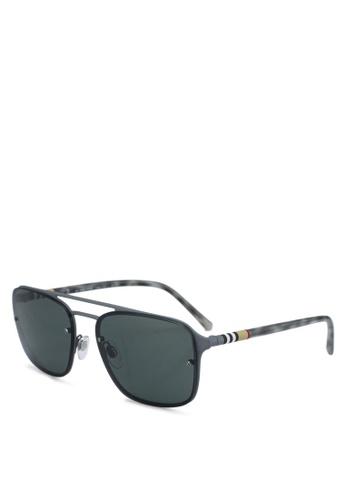 Burberry grey Burberry BE3095 Sunglasses 4BCE7GLD39154DGS_1