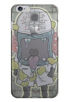 Mad Science Transparent Hard Case for iPhone 6, iPhone 6s