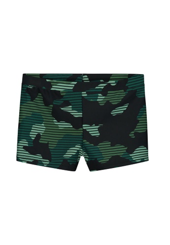 Shiwi green Camouflage Swimboxers 2A19FKAE3A9772GS_1