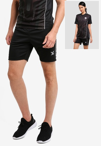FBT black and white Sports Shorts 689B8AA356E867GS_1