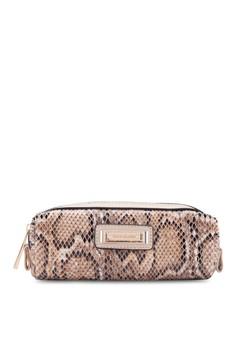 Snake Print Brush Bag