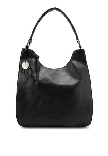 Perllini&Mel black Faux Leather Shoulder Bag PE444AC0SJ05MY_1
