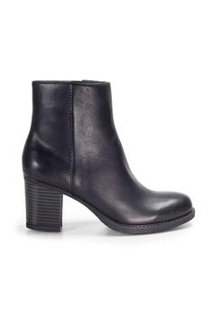 68f8a5fa0d6a Shu Talk black Amaztep Classic Calf Leather Mid calf Boots  0EA4DSH7F4FCDBGS 1