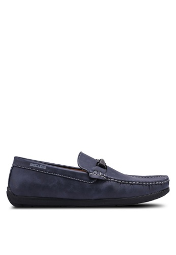 Rocklander blue Metal Hardware Loafers A2028SHA8BB1B8GS_1