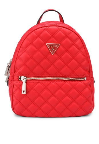 Guess red Cessily Backpack 75897AC1941421GS_1
