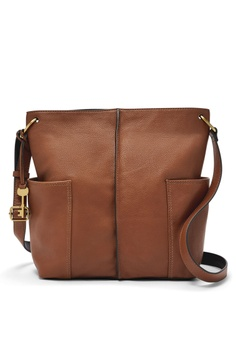 5f5a10d35ada Fossil brown Fossil Lane Ns Crossbody ZB7472200 F6A4BACBEAB2B7GS 1