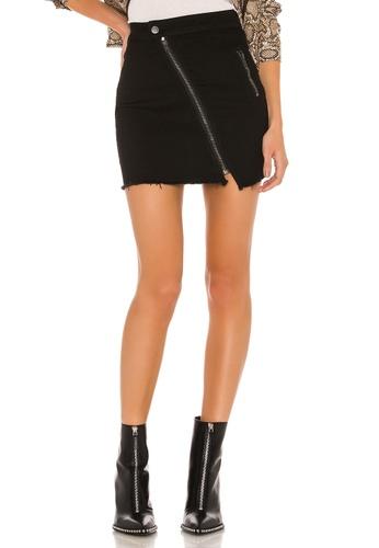 save up to 60% timeless design enjoy discount price Willah Distressed Denim Skirt(Revolve)