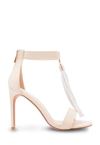 Karen&Chloe Sepatu Wanita High Heel Putih