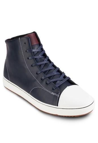 麂皮皮革繫帶esprit 內衣低筒休閒鞋, 鞋, 鞋