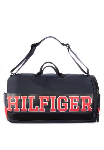 1c891612 Shop Tommy Hilfiger Varsity Nylon Duffle Bag Online on ZALORA Philippines