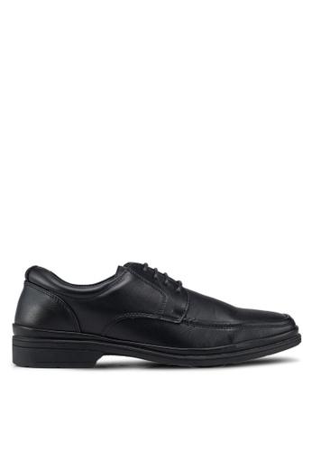 Bata black Lace Up Dress Shoes 5C708SH0B92889GS_1