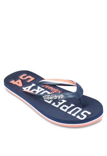 Tesprit 台中rack & Field 拖鞋, 女鞋, 鞋