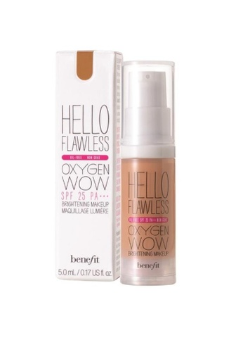 Benefit beige Benefit Hello Flawless! Oxygen Wow Liquid Foundation - Amber, I'm So Glamber BE670BE0RQYOMY_1