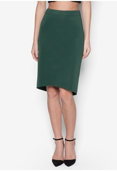 Collection High Low Midi Skirt