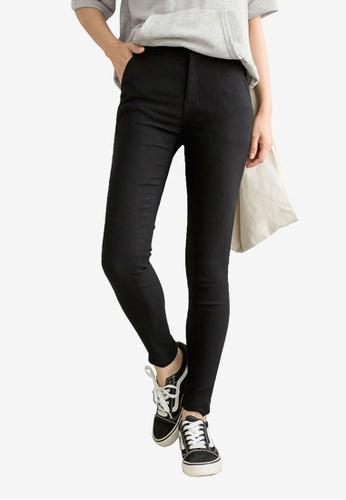 Tokichoi black Basic Skinny Pants 5BC53AAD22E4F7GS_1