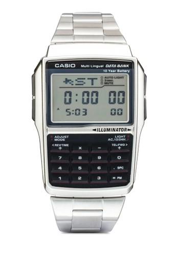 DBC-32D-1ADF 數據銀行鍵盤電子手錶, 錶esprit 兼職類, 飾品配件