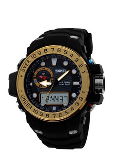 50M Waterproof Dual Model Watch With Compass
