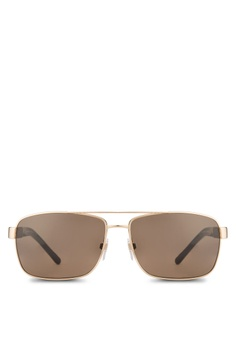 burberry mens sunglasses dpd5  Burberry gold Canvas Che Sunglasses BU958GL31TBGMY_1
