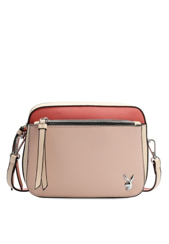 PLAYBOY BUNNY pink Ladies Sling Bag 82A75AC1C52F19GS_1