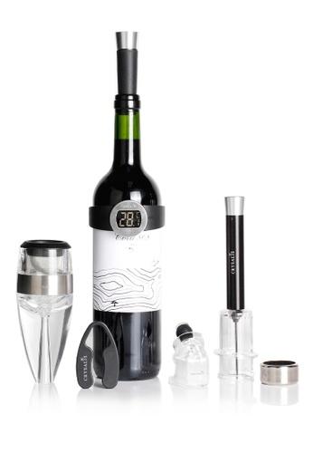 Crysalis black and white Premium Wine Accessories Set of 8 A0665HL098E1F6GS_1