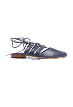 Image of Acala Flat and Gladiator Shoes Blue