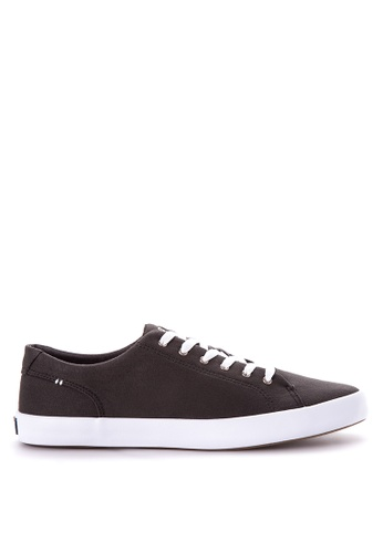 Sperry black Wahoo LTT Saturated Sneakers SP132SH31CEQPH_1