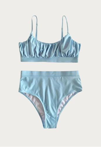 Bluepalm blue Malapascua in Turquoise Two-Piece Swimsuit C0EC3US4E79210GS_1