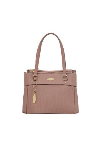 British Polo pink British Polo Buster Shoulder Bag E9DF5AC2701E38GS_1