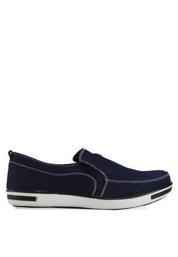 CATCHEER navy Romeo Sneakers CA976SH40KTFID_1