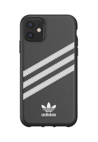 ADIDAS black Adidas Originals iPhone 11 3-Stripes Snap Case 56222AC8A16D77GS_1