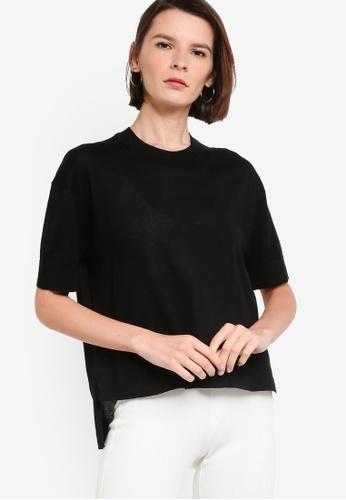 ck Calvin Klein black ORGANIC COTTON EASY TOP 43576AA791B585GS_1