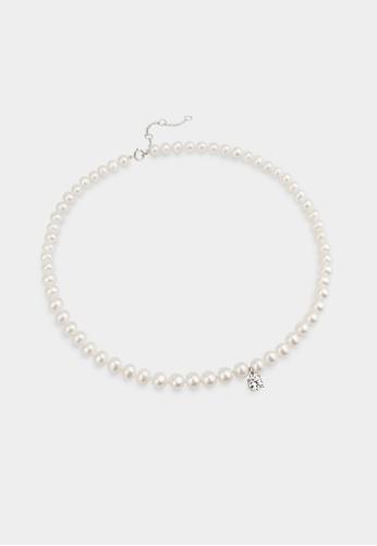 monojewelry BIRDIE PEARL NECKLACE 7F441AC5518ACEGS_1