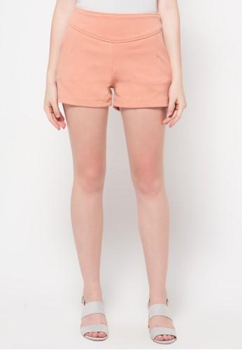 Raspberry orange Vannesa Short Pants RA572AA63OVGID_1