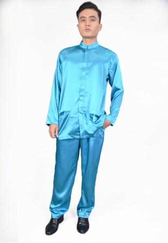 Denai Boutique blue Baju Melayu Najmi ED599AAE05BCBAGS_1