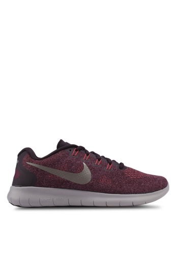 Nike red Women's Nike Free RN 2017 Running Shoes NI126SH0STXDMY_1
