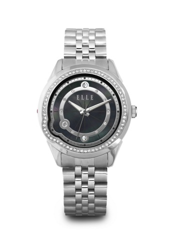 ELLE black Fashion Ladies Watch EL105AC68LLRMY_1