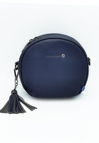 EXTREME blue Extreme Genuine Leather Circle Bag 5E323AC9AFE2FEGS_1