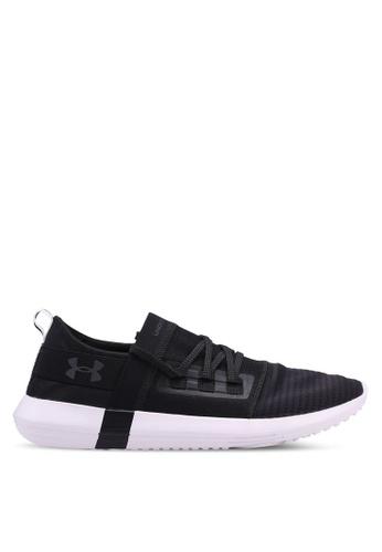 Under Armour black UA Adapt Shoes B5FDBSHF397B70GS_1