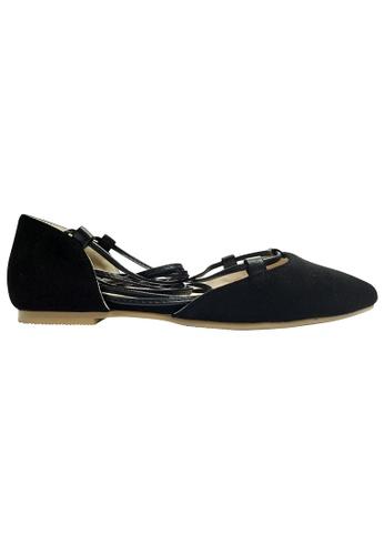 Lara black Ballerina Flats 796B6SH772FC7BGS_1