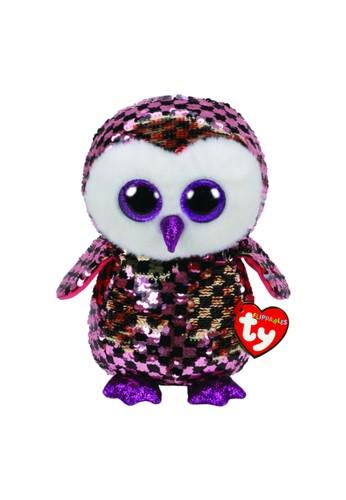 TY TY - Beanie Boos Flippables Checks the Checkered Owl - M 34AC2THB08C597GS_1