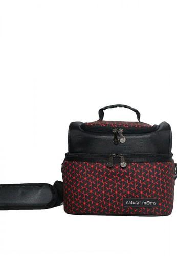 Natural Moms black Natural Moms - Thermal Bag / Cooler Bag Sling Red Velvet EC666KCC09C06EGS_1