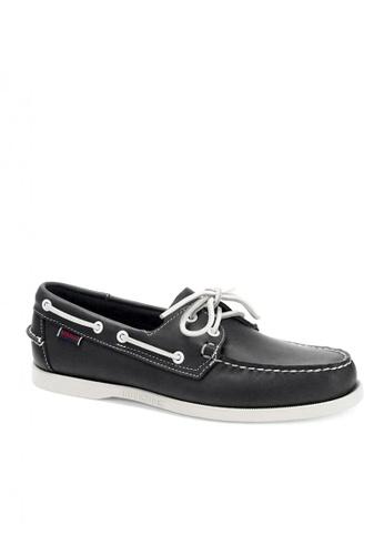 Sebago navy Men's Boat Shoes Spinnaker 41C60SH4F9A17BGS_1